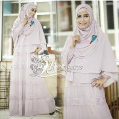 Trend Terbaru Busana Muslim Opnasel by Lil Gorgeous Cream