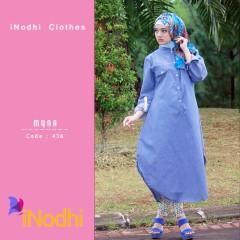 Trend Terbaru Busana Muslim Wanita Myna by Inodhi 436