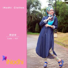 Trend Terbaru Busana Muslim Wanita Myna by Inodhi 437