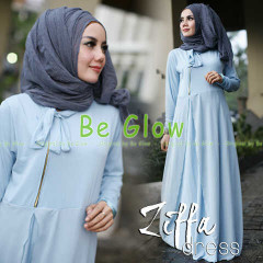 Trend Terbaru Busana Muslim Ziffa by Be Glow (1) Baby Blue