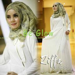 Trend Terbaru Busana Muslim Ziffa by Be Glow (5) Putih