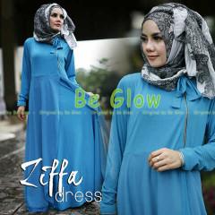 Trend Terbaru Busana Muslim Ziffa by Be Glow (9) Biru Tosca