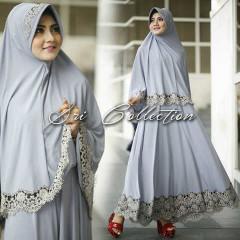 Trend Terbaru Busana Muslimah Nobita Syar'i by Sri Collection Abu-abu