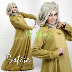 Trend Terbaru Busana muslim Modern Safira by Be Glow Gold