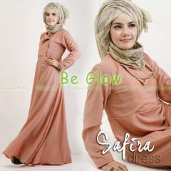 Trend Terbaru Busana muslim Modern Safira by Be Glow Salmon