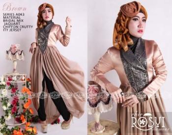 Baju Muslim Terbaru Balimo Rosy Brown