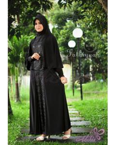 Baju Muslim Wanita Modern Fathiyyah by Adzkia Black