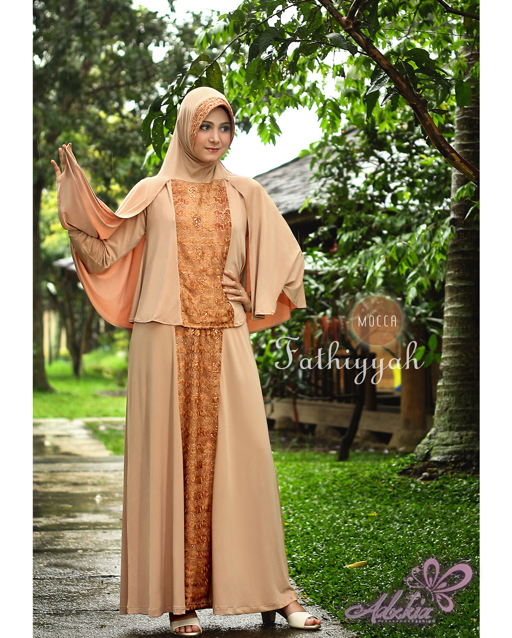 Baju Muslim Wanita Modern Fathiyyah by Adzkia Mocca