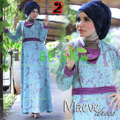 Busana Mjuslim Dress Terbaru Maeve by Be Glow 2