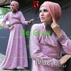 Busana Mjuslim Dress Terbaru Maeve by Be Glow 3