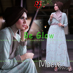 Busana Mjuslim Dress Terbaru Maeve by Be Glow 4