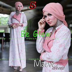 Busana Mjuslim Dress Terbaru Maeve by Be Glow 5