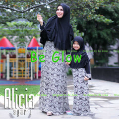 Busana Muslim Syar'i Terbaru Alicia by Be Glow 2