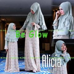 Busana Muslim Syar'i Terbaru Alicia by Be Glow 3