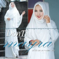 Busana Muslim Terbaru Dontie Syar'i by Mayra Putih