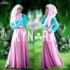Busana Muslim Terbaru Nisaa by Kynara Pink