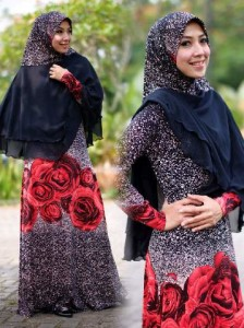 Busana Muslim Terbaru Sechan Syar'i by Layra Hitam