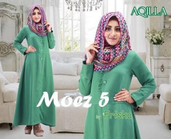 Busana Muslim Trend 2015 Aqilla by Friska Hijau