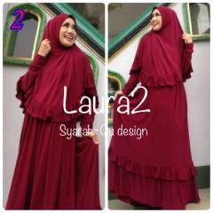 Busana Muslim Wanita Modern Laura vol.2 by Syarahqu Design 2