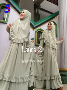 Busana Muslim Wanita Modern Laura vol.2 by Syarahqu Design 3