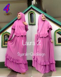 Busana Muslim Wanita Modern Laura vol.2 by Syarahqu Design 4
