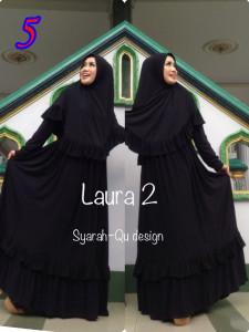 Busana Muslim Wanita Modern Laura vol.2 by Syarahqu Design 5