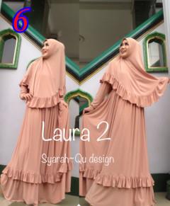 Busana Muslim Wanita Modern Laura vol.2 by Syarahqu Design 6