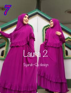 Busana Muslim Wanita Modern Laura vol.2 by Syarahqu Design 7