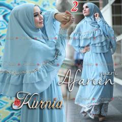 Busana Muslim Wanita Terbaru Afareen Syar'i by Kurnia 2
