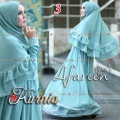 Busana Muslim Wanita Terbaru Afareen Syar'i by Kurnia 3