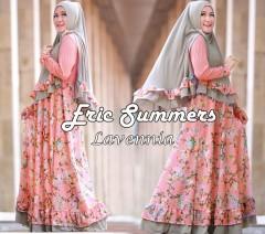 Busana Muslim Wanita Terbaru Lavenia Syar'i by Eric Summer Peach