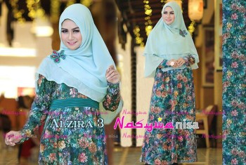 Busana Muslimah Terbaru Al Zira vol.3 by Nasywanisa Blue