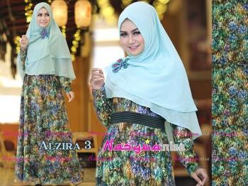 Busana Muslimah Terbaru Al Zira vol.3 by Nasywanisa Green