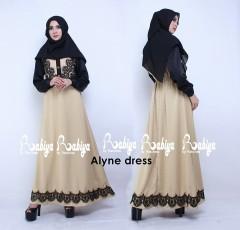 Busana Muslimah Terbaru Alyne Dress by Rabiya