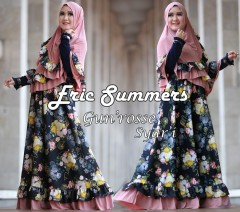 Busana Muslimah Terbaru Gun'rose by Eric Summers Dusty Pink