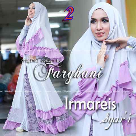 Busana Muslimah Terbaru Imareis by Farghani 2