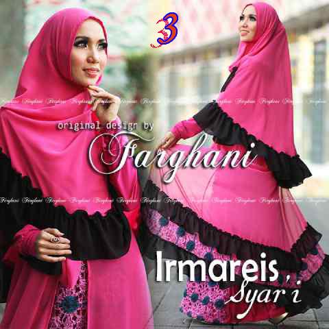 Busana Muslimah Terbaru Imareis by Farghani 3