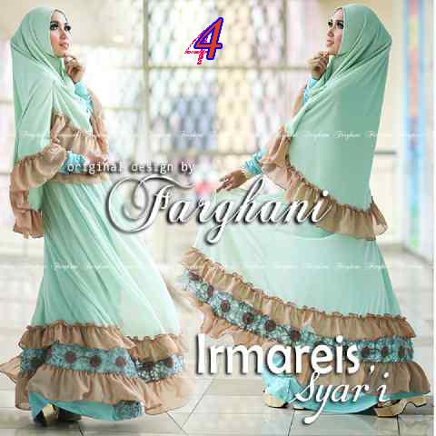 Busana Muslimah Terbaru Imareis by Farghani 4