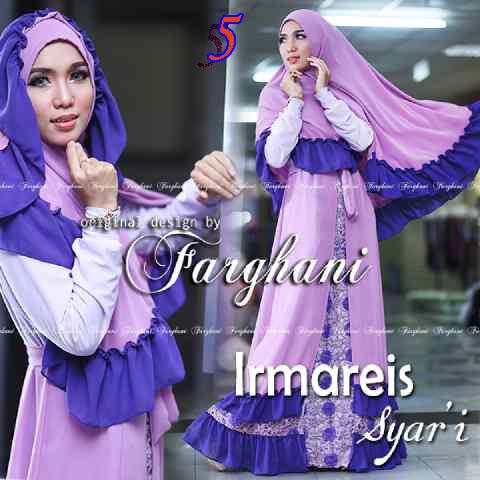 Busana Muslimah Terbaru Imareis by Farghani 5