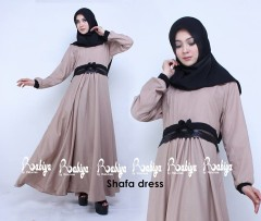 Busana Muslimah Terbaru Shafa Dress by Rabiya Coksu