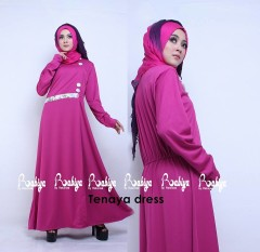 Busana Muslimah Terbaru Tenaya Dress by Rabiya