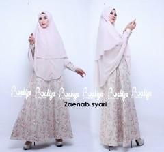 Busana Muslimah Terbaru Zaenab Syar'i by Rabiya Cream