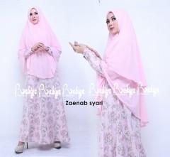 Busana Muslimah Terbaru Zaenab Syar'i by Rabiya Pink