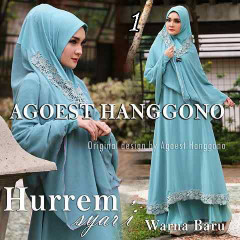 Busana muslim Terbaru Trendy Hurrem vol.2 by Agoes Hanggono 1