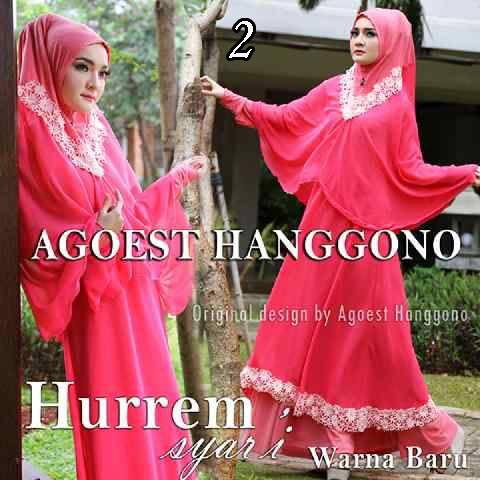Busana muslim Terbaru Trendy Hurrem vol.2 by Agoes Hanggono 2