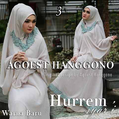 Busana muslim Terbaru Trendy Hurrem vol.2 by Agoes Hanggono 3