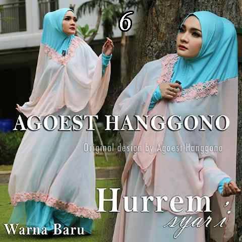 Busana muslim Terbaru Trendy Hurrem vol.2 by Agoes Hanggono 6