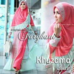 Koleksi Busana Muslim Terbaru Khizama Syar'i by Farghani Merah