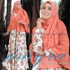 Koleksi Busana Muslimah Terbaru Marsya by Mayra Orange