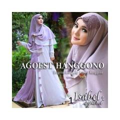 Koleksi Terbaru Busana Muslim Isabel Syar'i by Agoes Hanggono 1